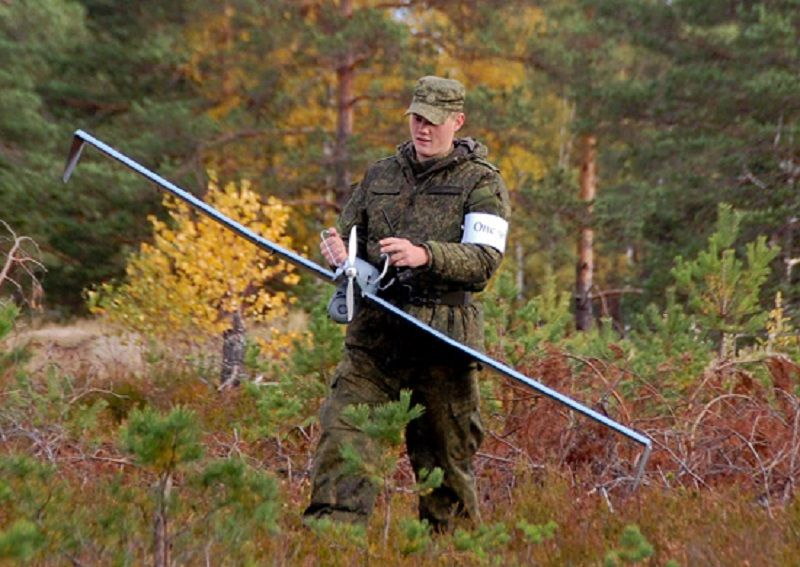 Russian drone exercise