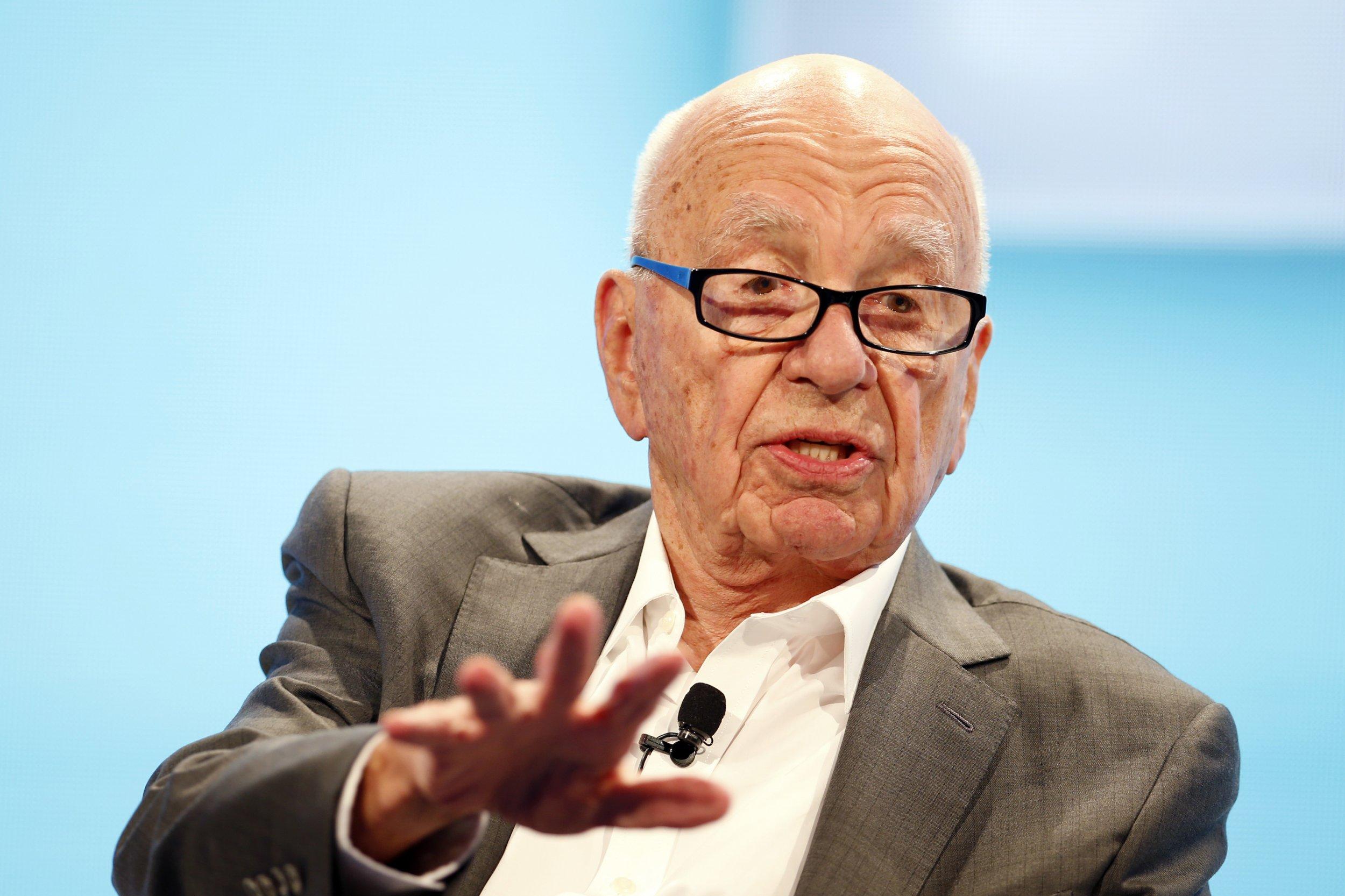 Report: Rupert Murdoch to Step Down as CEO of 21st Century Fox Rupert Murdoch