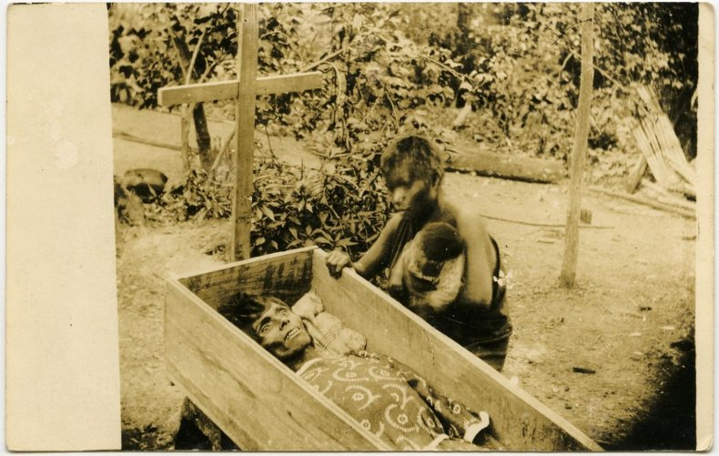 Burial of the Jibaro