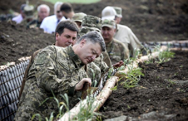 President Petro Poroshenko in Ukraine