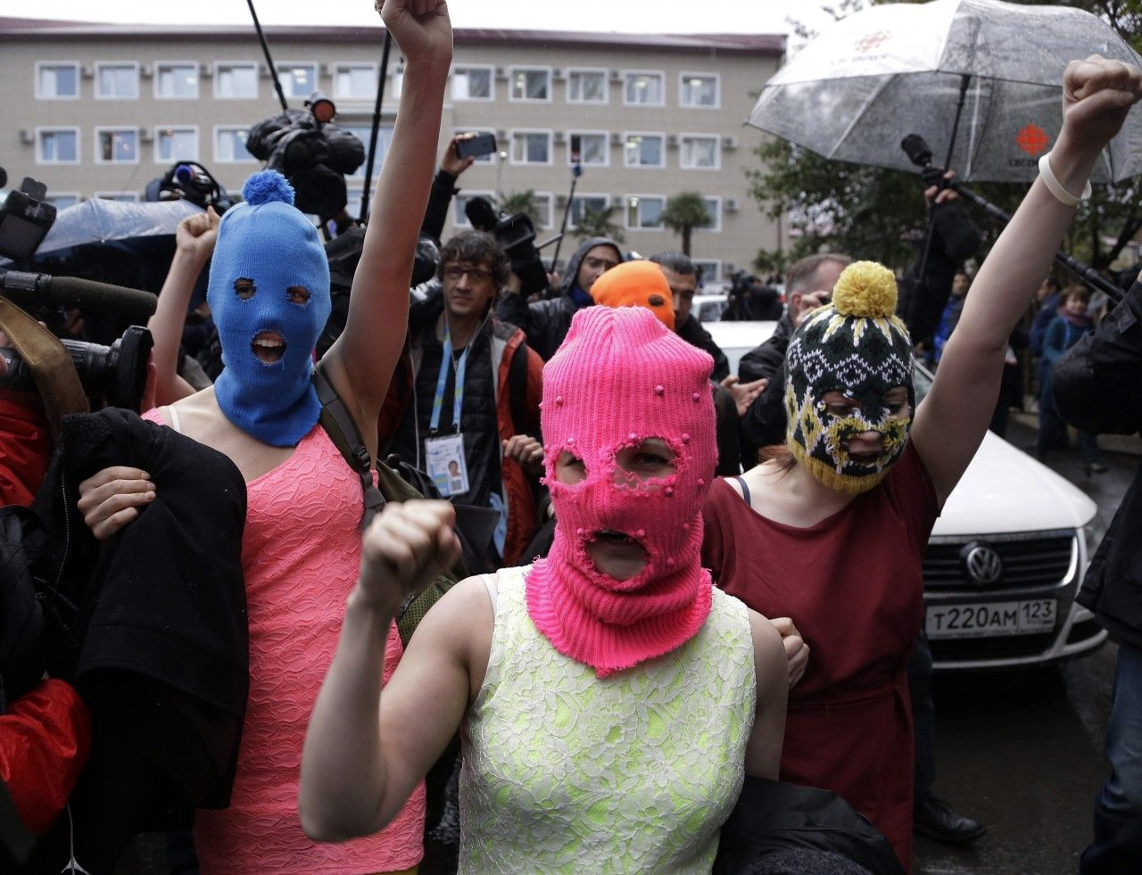 Pussy Riot: We Were Pummeled and Pepper Sprayed in Sochi