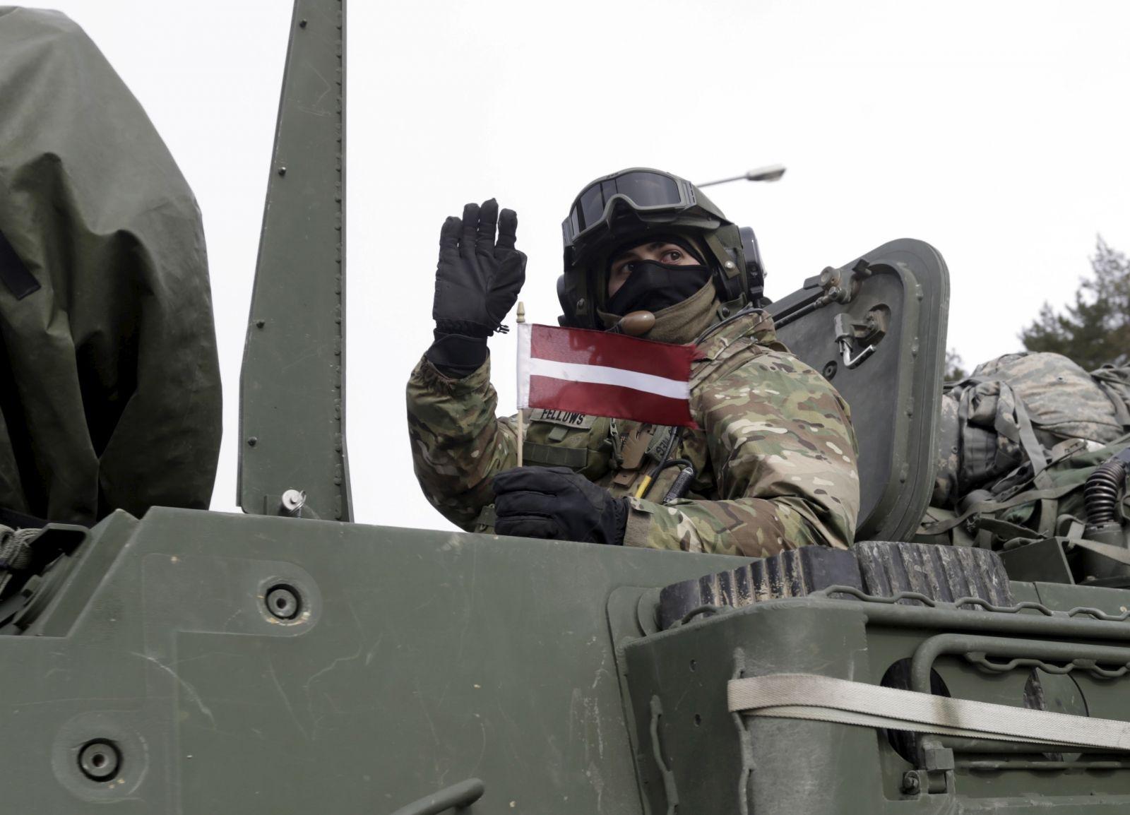 US heavy weapons baltics