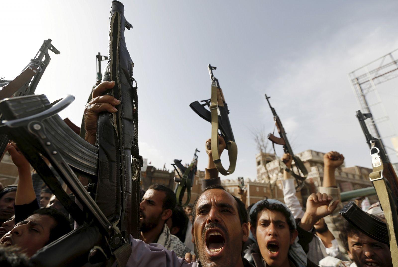 Houthis Yemen peace talks Geneva