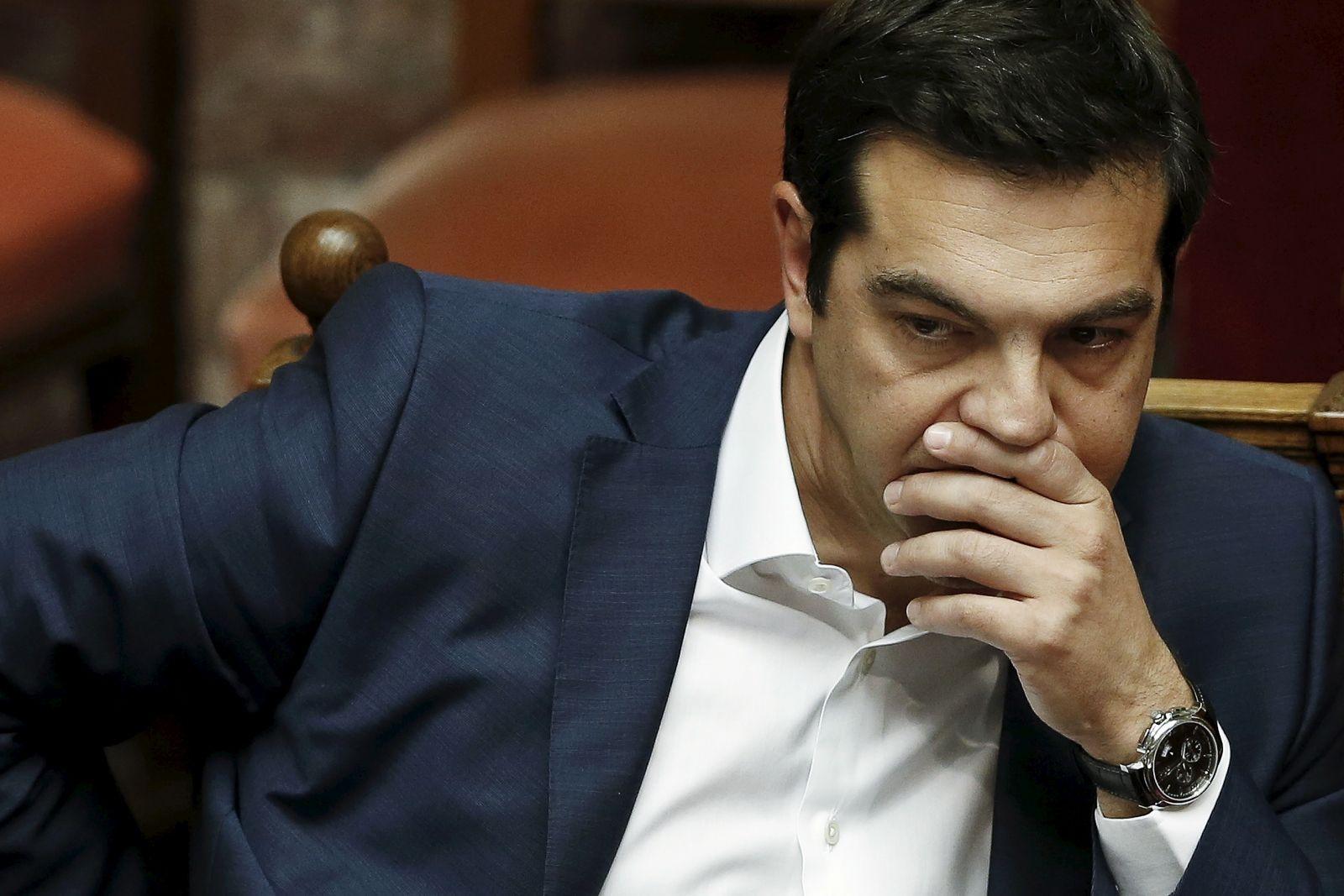 Syriza split