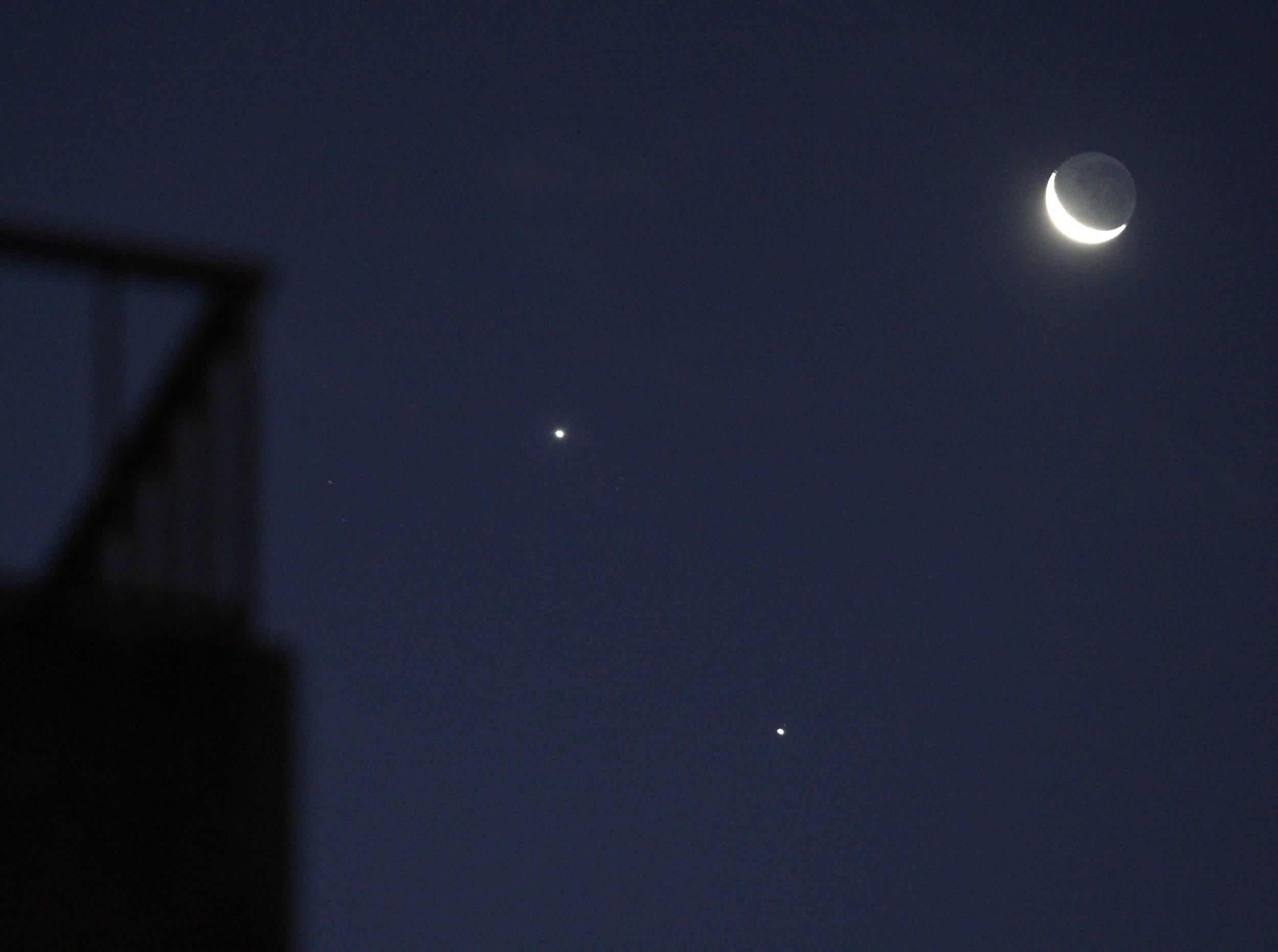 6-17-15 Venus Jupiter