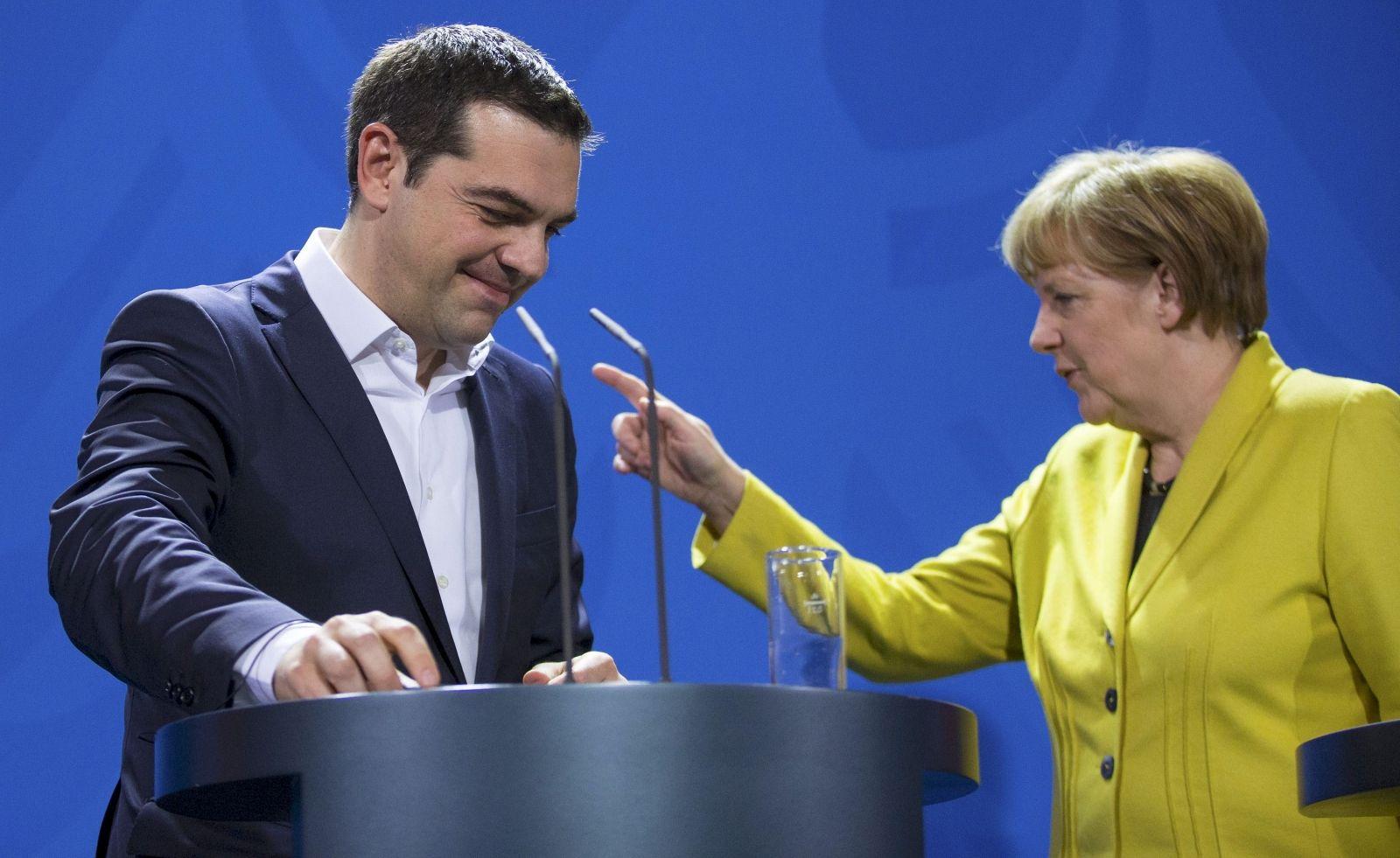 Tsipras and Merkel