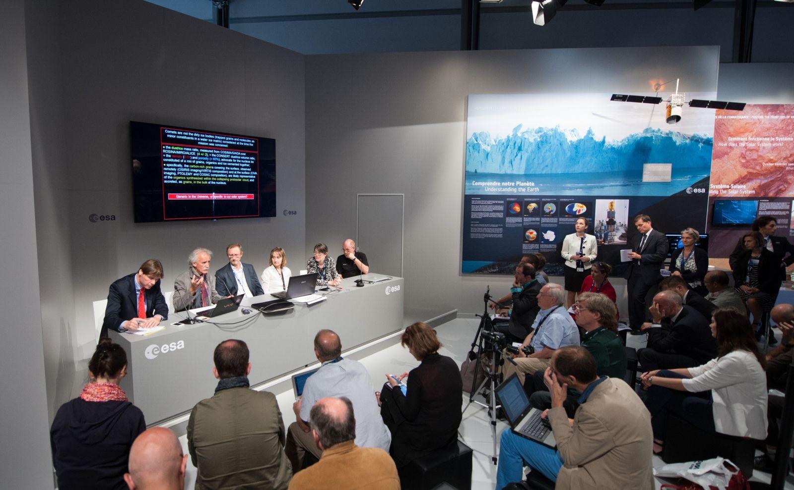 Rosetta Philae briefing