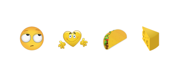 37 New Emojis, Including Taco and Cheese, Are Coming