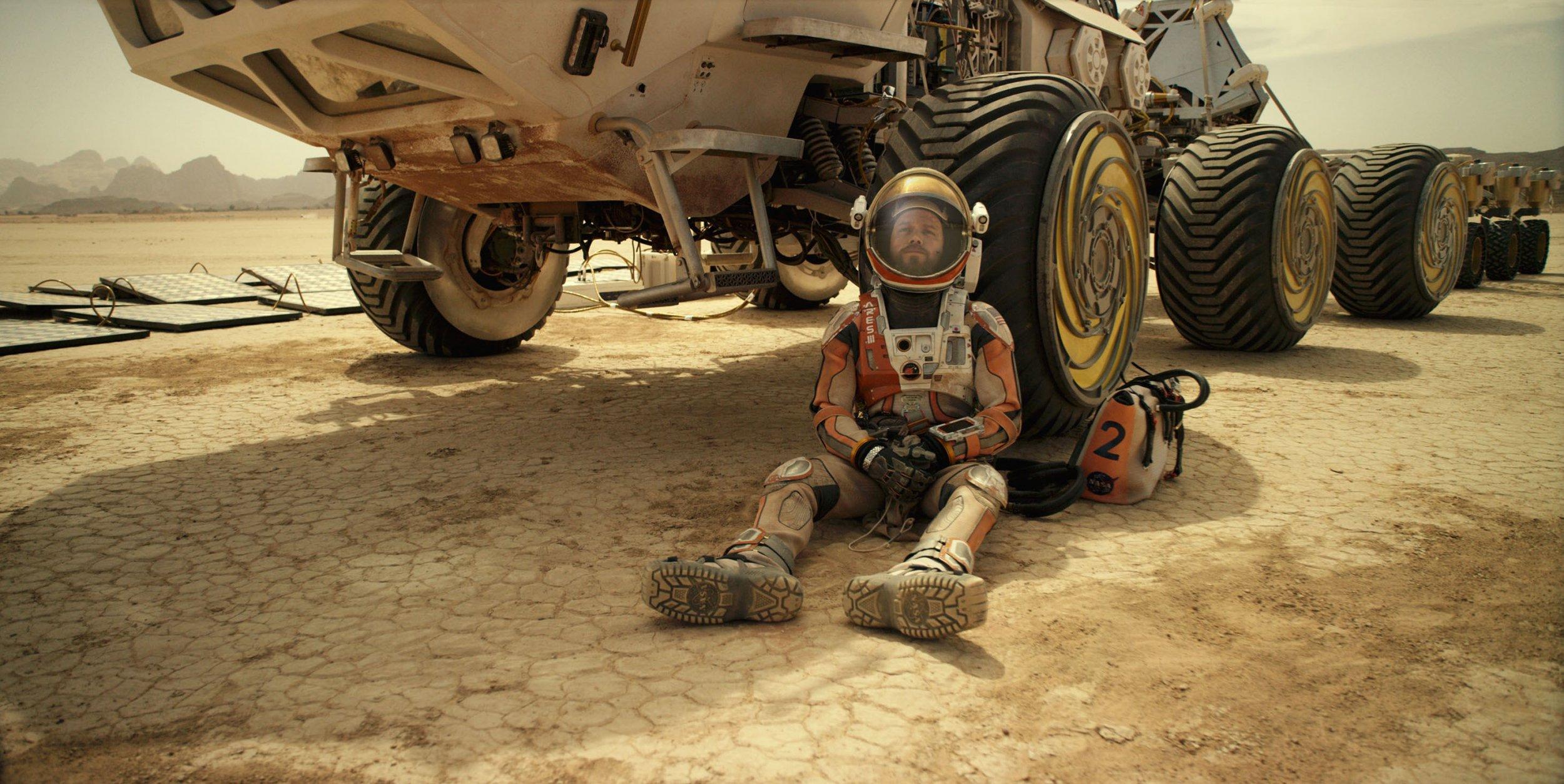 Matt Damon Spills About The Martian