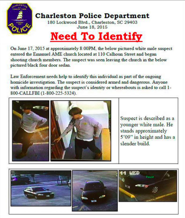 Suspect Charleston