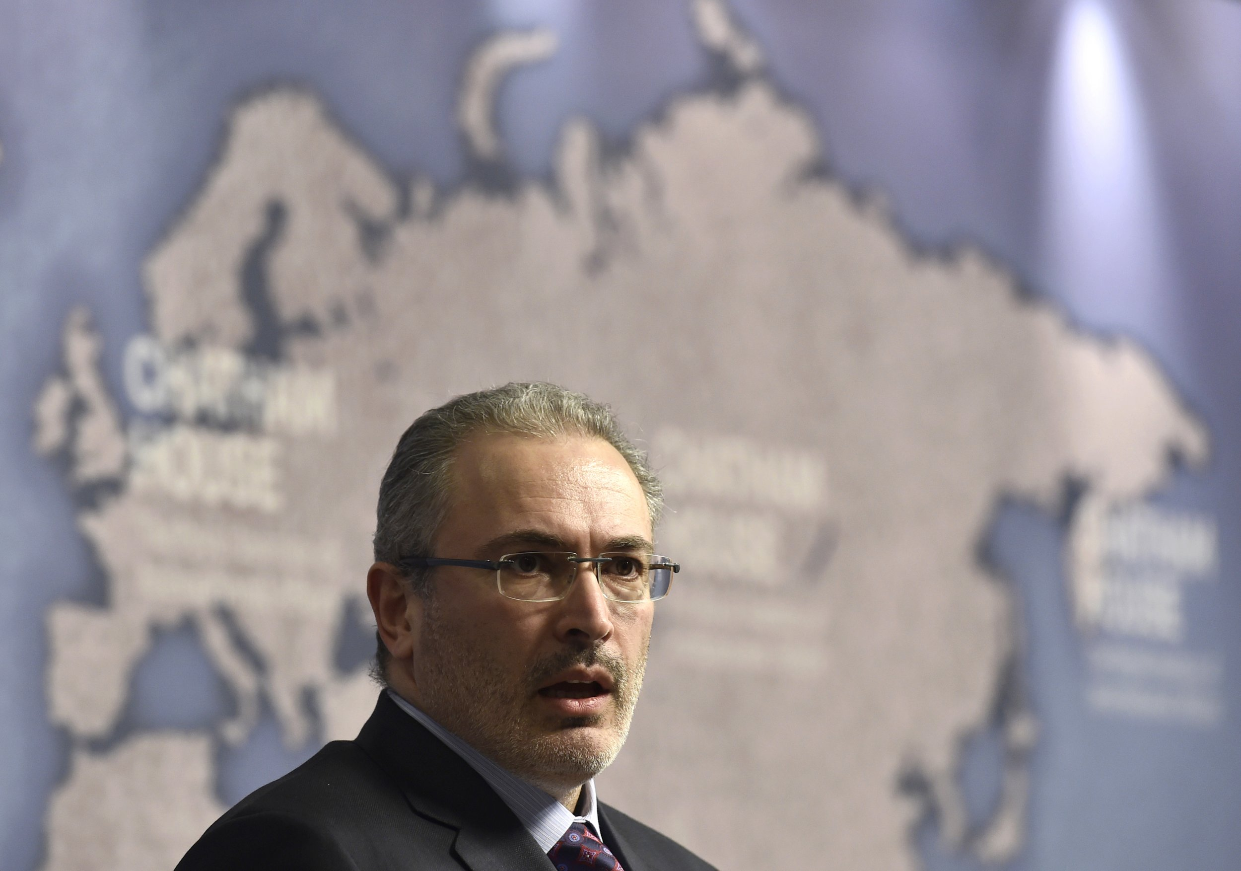 Mikhail Khodorkovsky in London