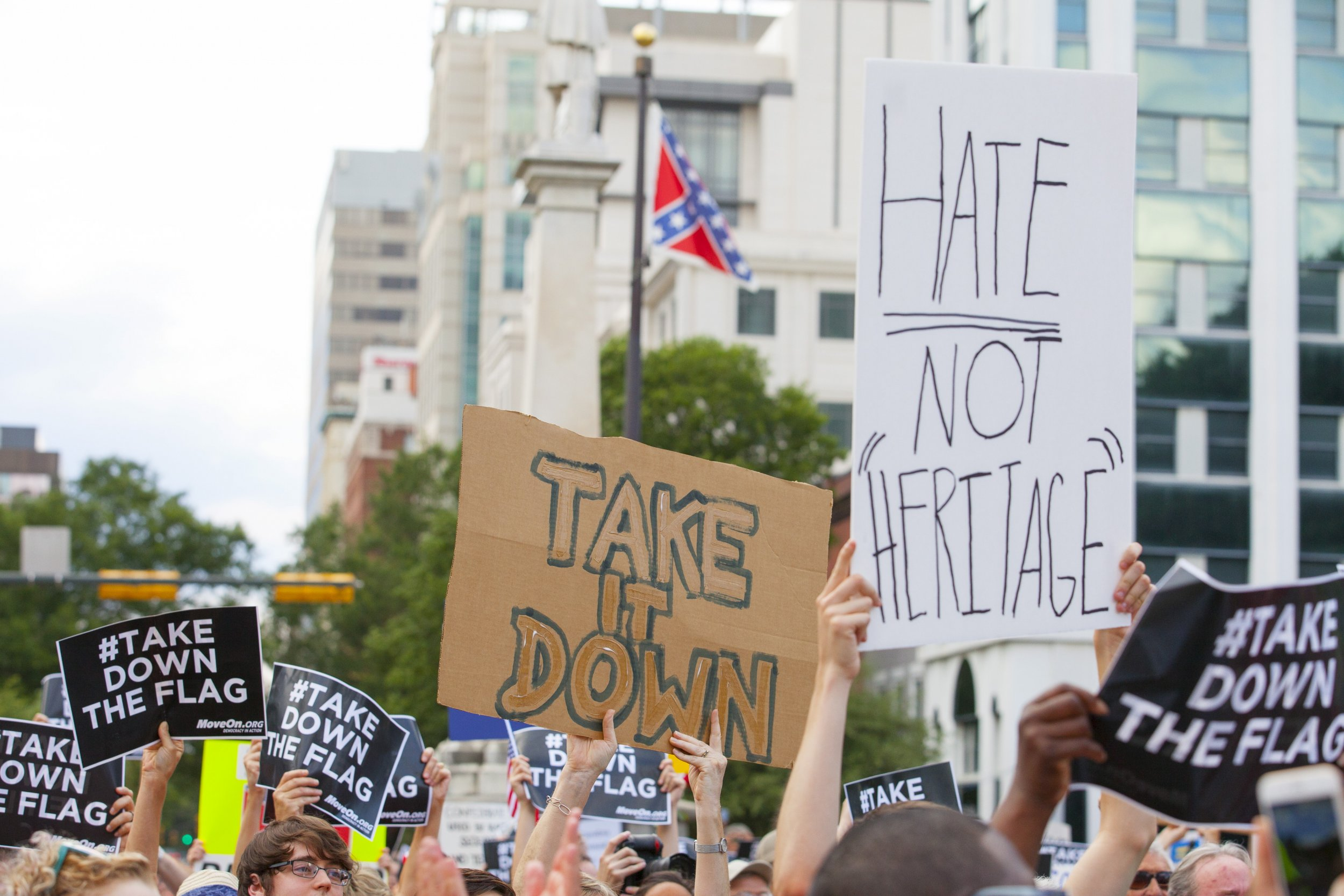 6-22-15 Confederate flag protest