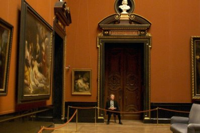 Museum attendants are unsung heroes