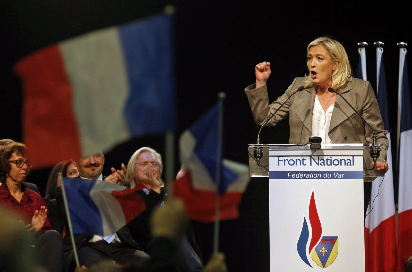 Le Pen says US is no ally
