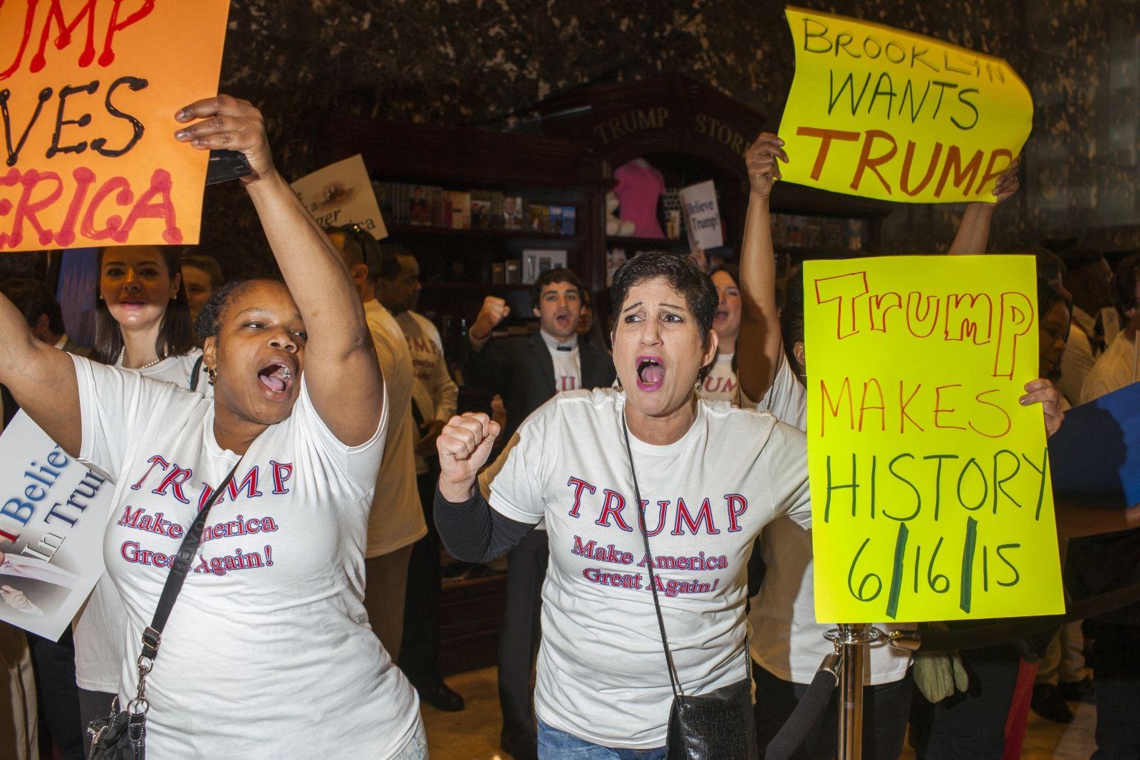 Donald Trump pulls white working class vote