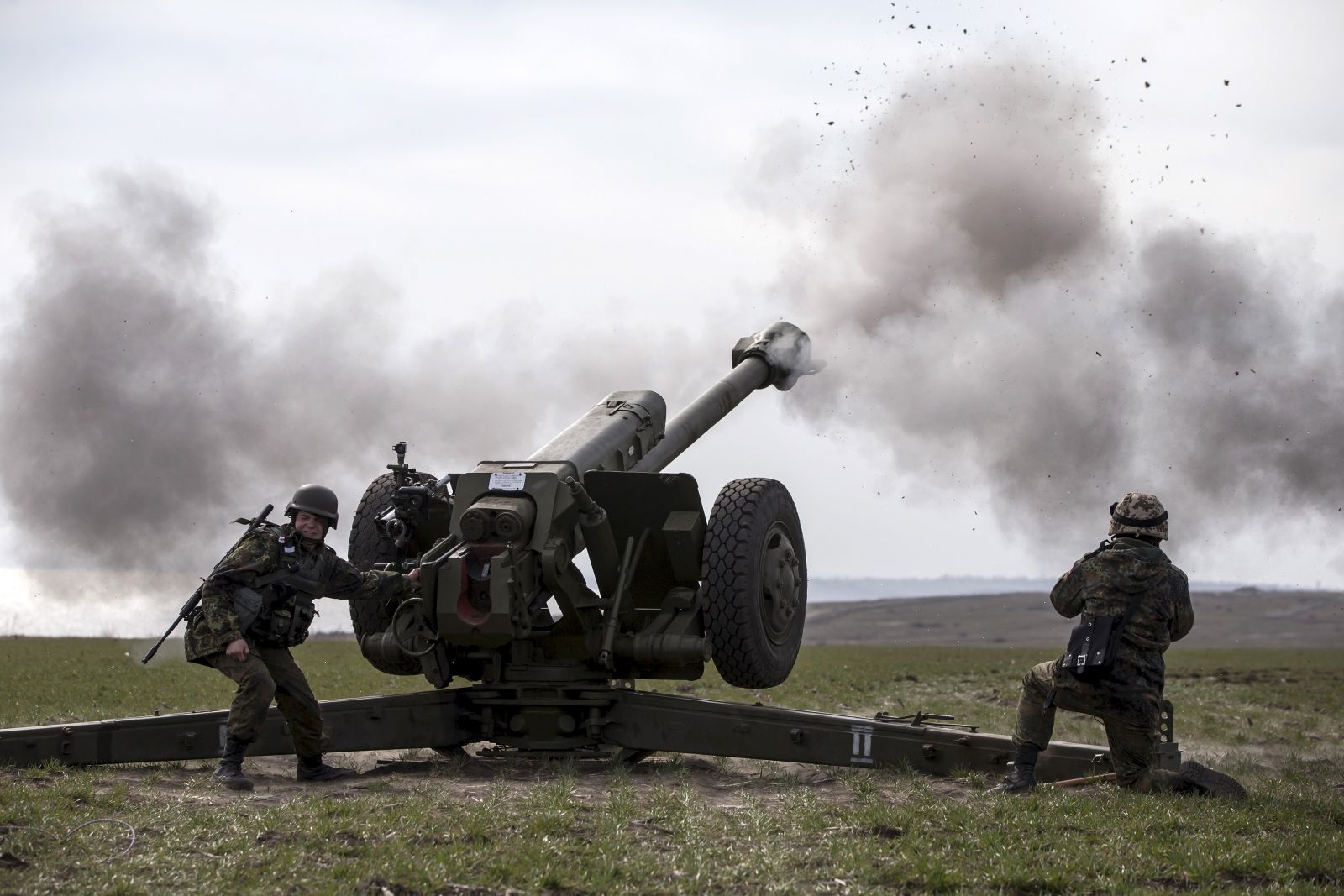 Return to heavy fighting in Ukraine