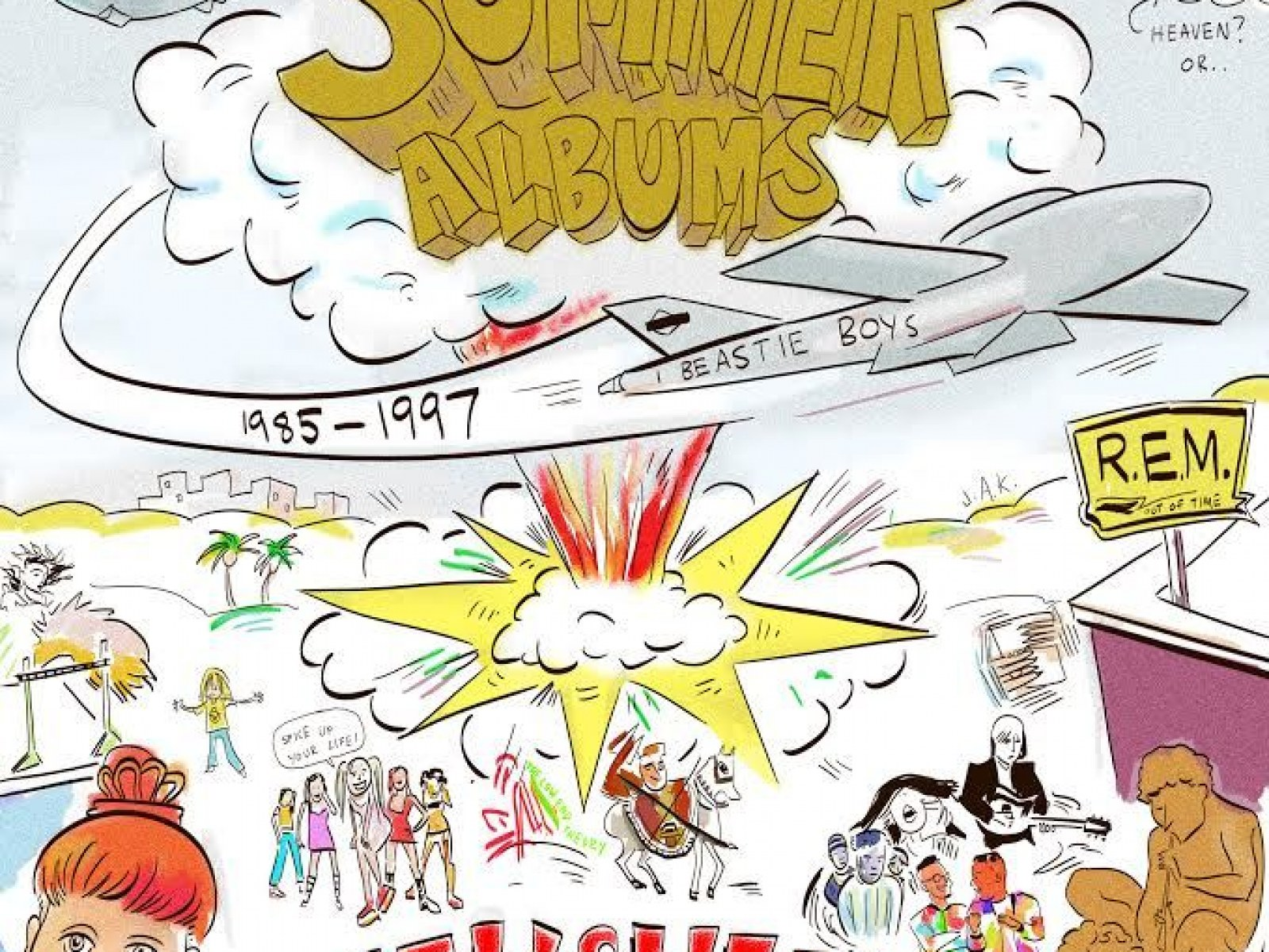 A Definitive List of the Best Summer Albums (Released