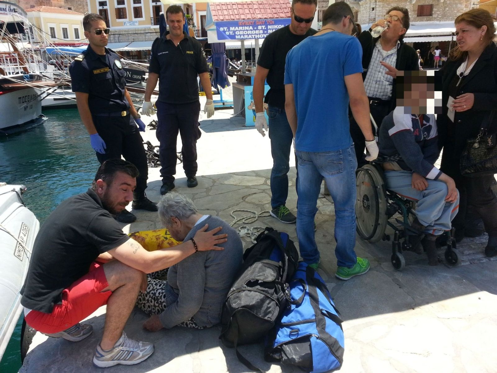 Greece - Disabled Migrants