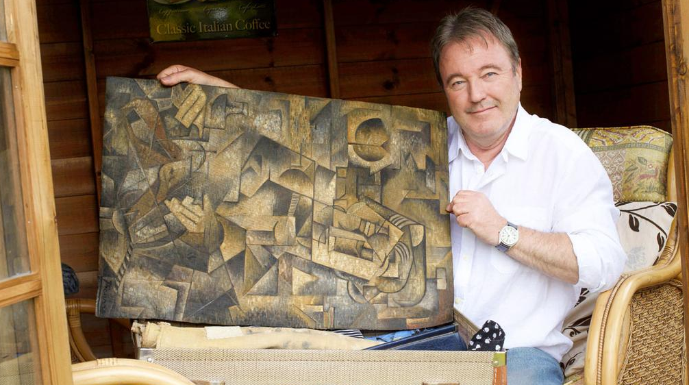 'Picasso' found in Scottish attic