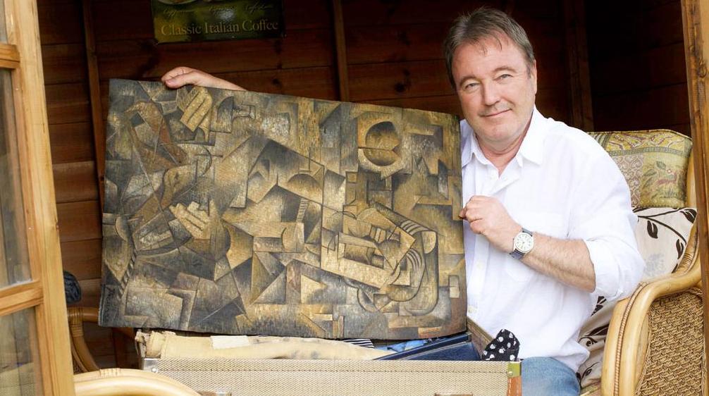 'Picasso' found in Scottish attic
