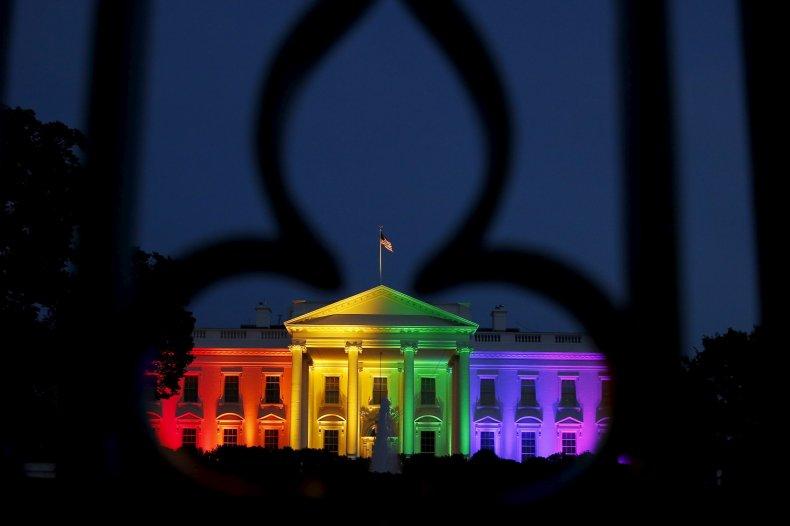 White House Rainbow 2