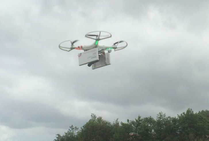 Drone to deliver abortion pills