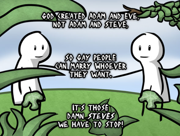 The Surprising History Of The Phrase Adam And Eve Not Adam And Steve