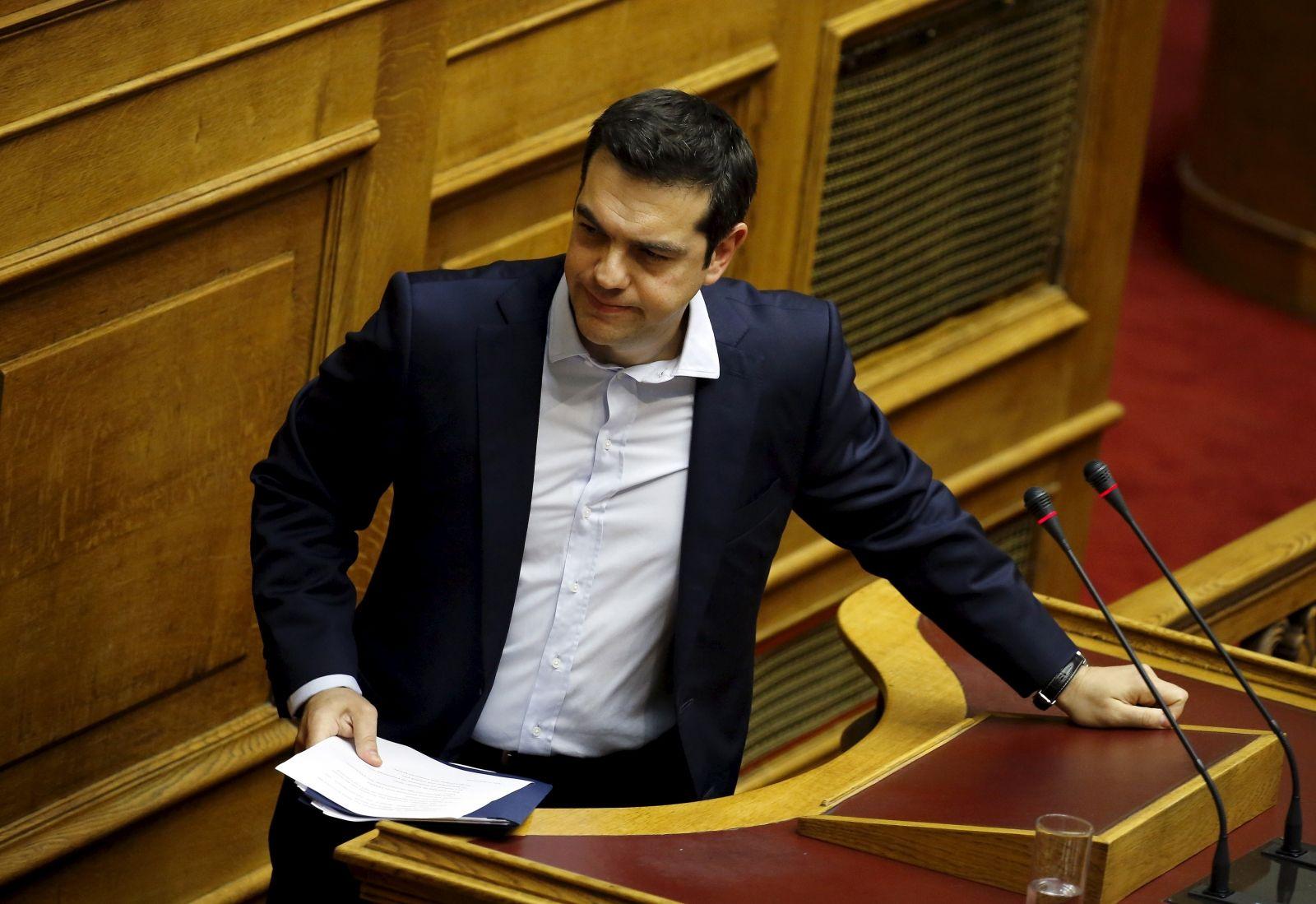 Alexis Tsipras backs down