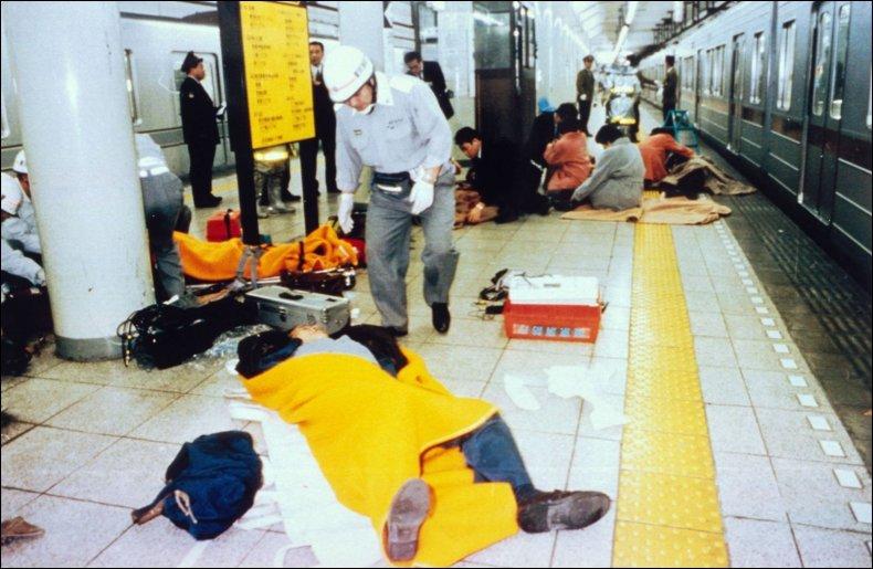 Gas Attack In Tokyo Subway