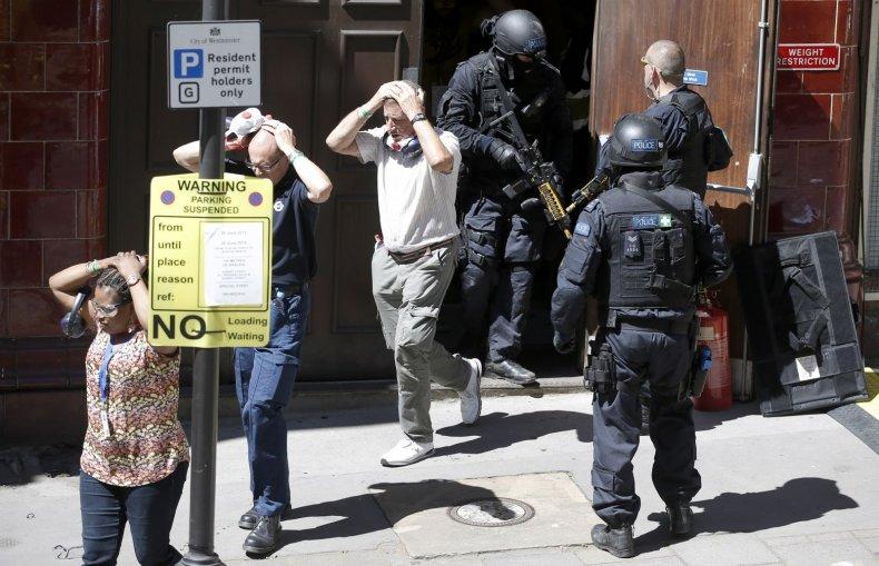 Mock terror attack exercise London