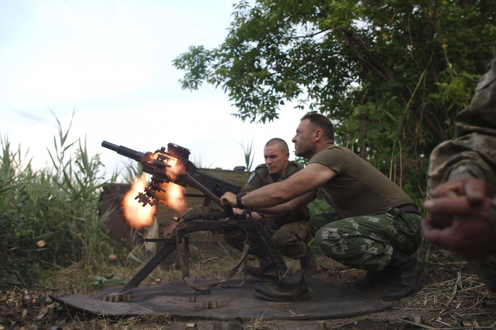 Russian military camp found in Ukraine