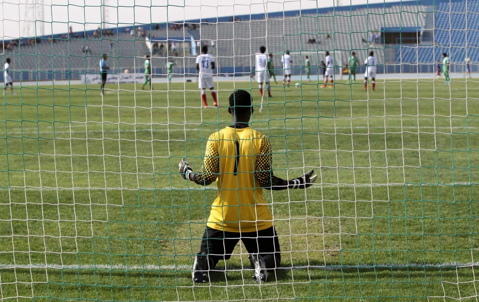 Liberia football Ebola ban