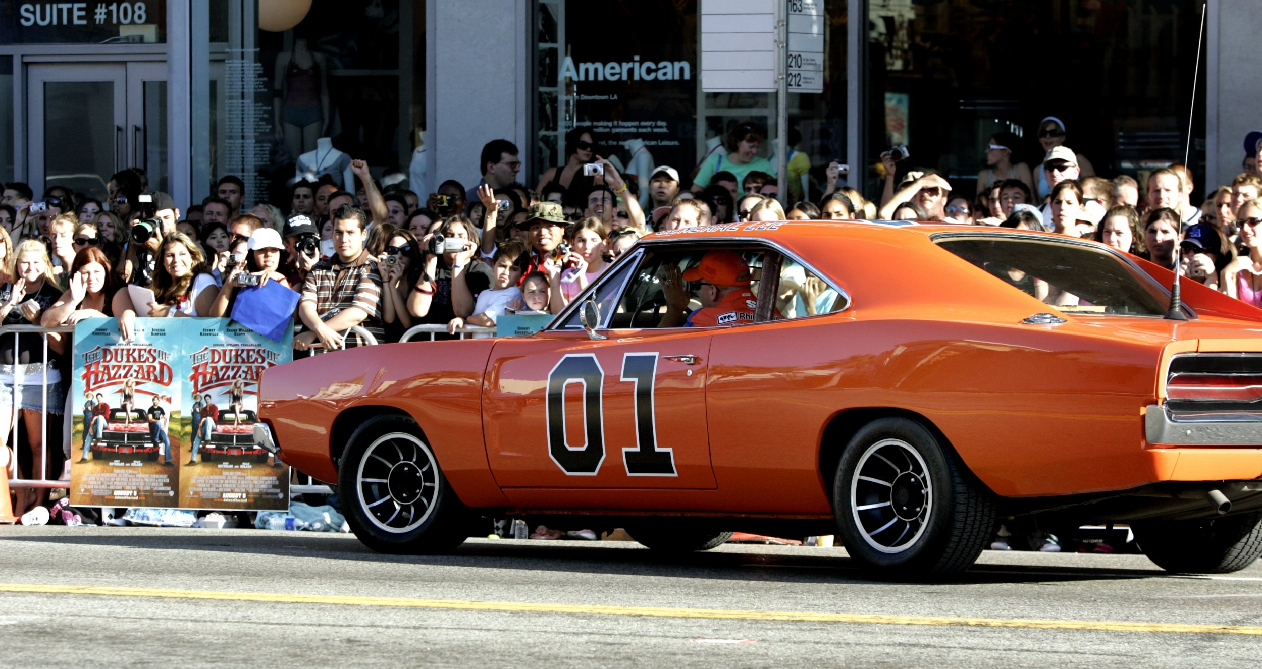 bubba watson will paint over confederate flag on the dukes of hazzard car