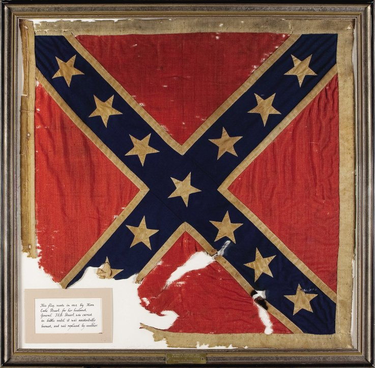 Photos: The Value of Confederate Flags