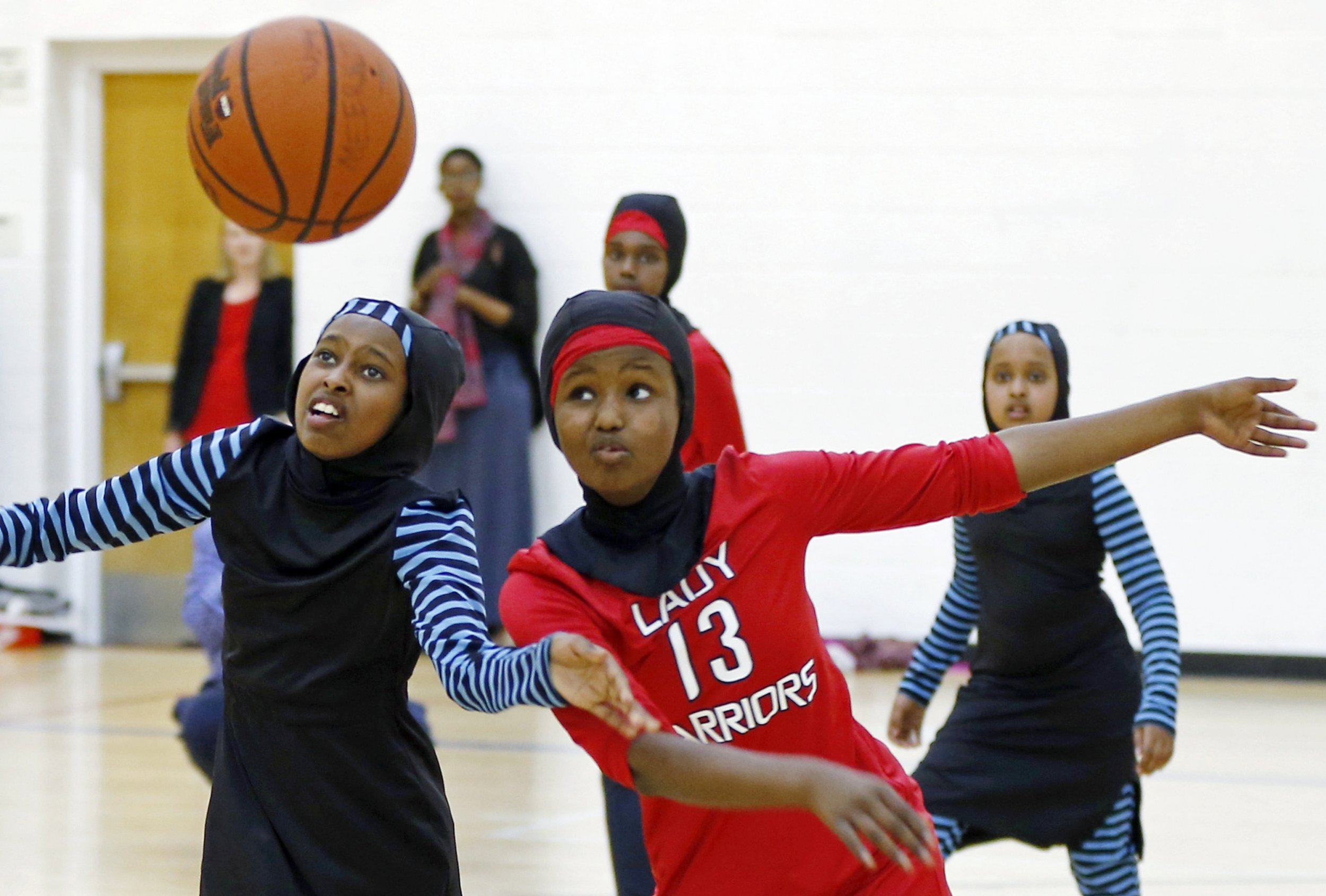 Quot Basketball Uniforms Designed For Girls With Hijabs