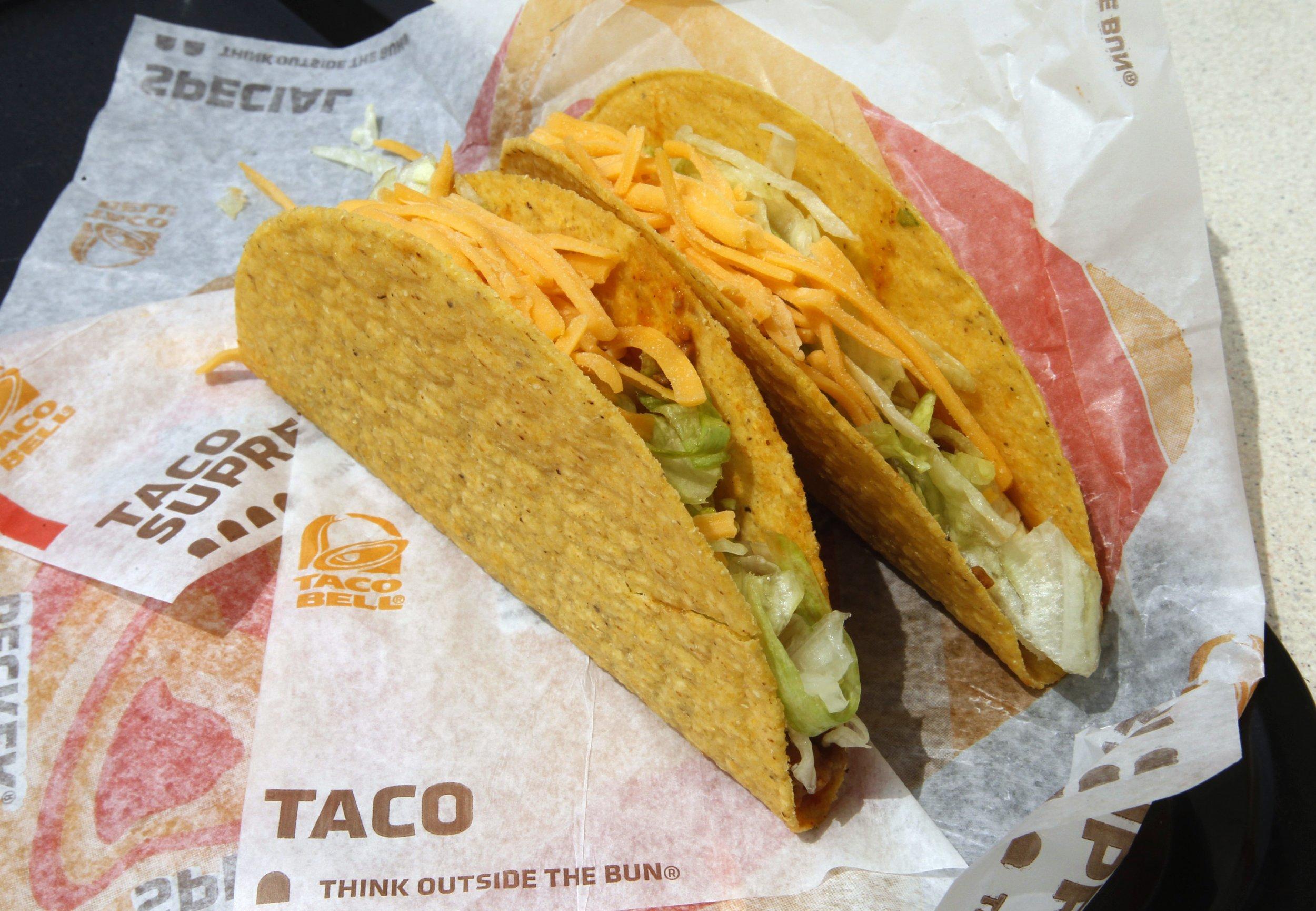 taco bell menu calories pdf