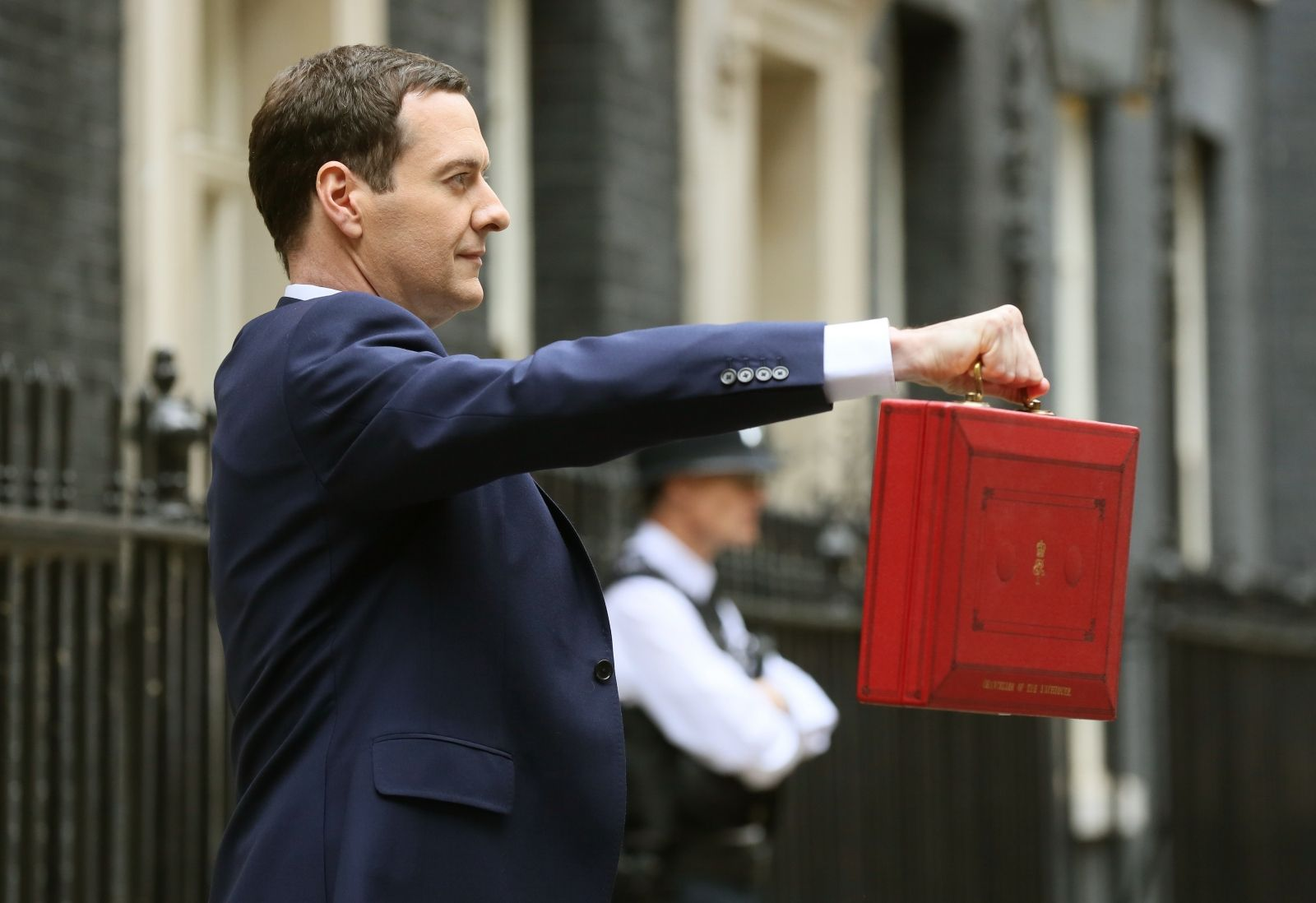 George Osborne defence spending