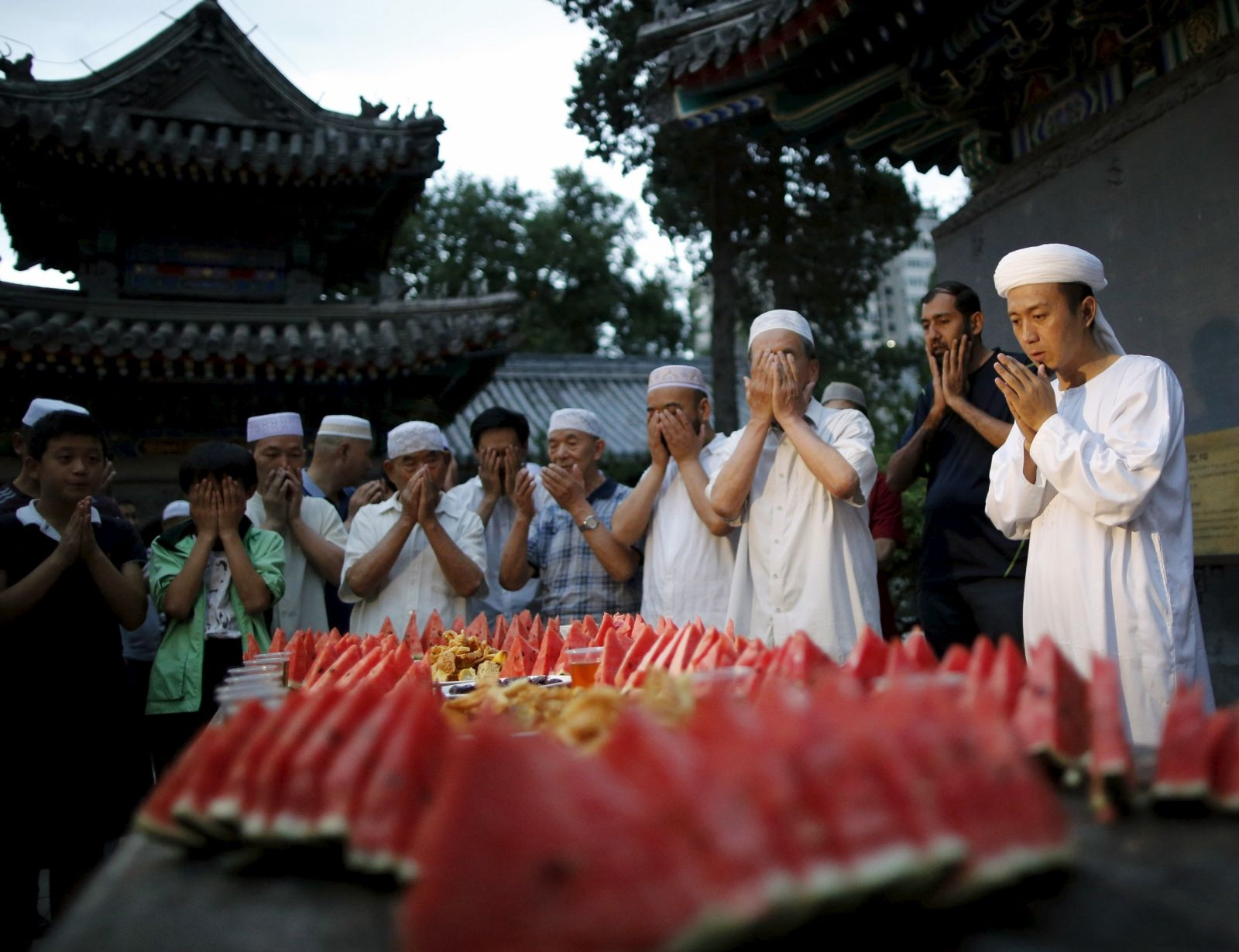 China Muslims Ramadan