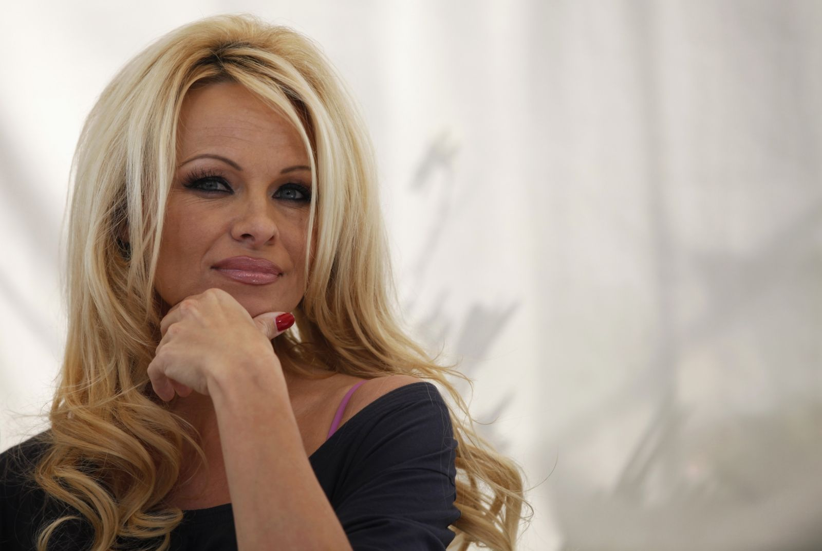 Pamela Anderson writes letter to Putin