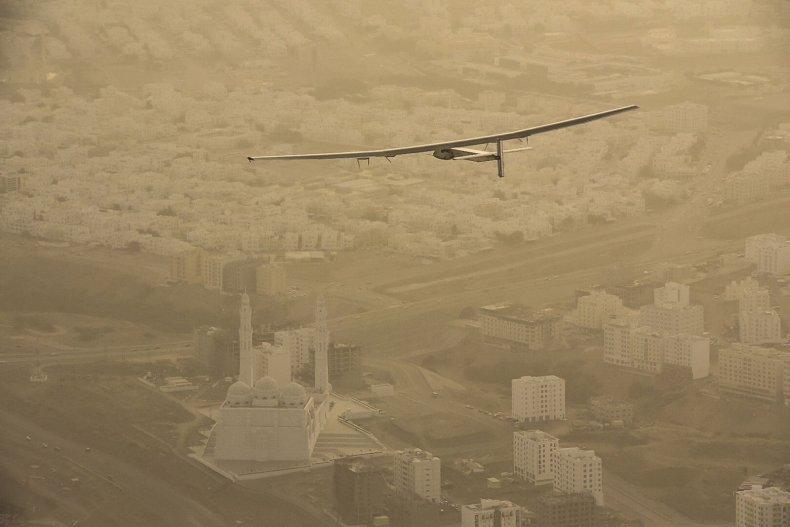 Solar Impulse 2 solar energy plane