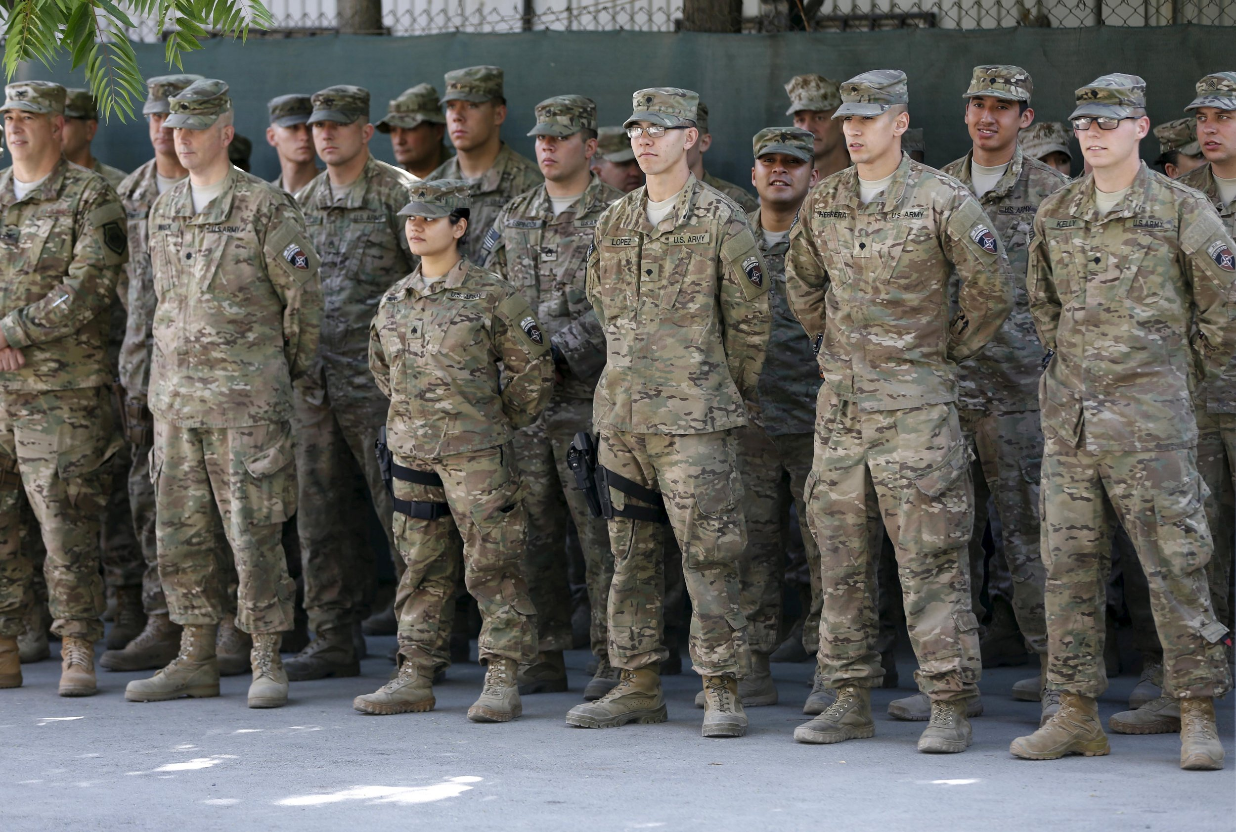 Army Of Us: U.S. Army To Cut 40,000 Troops Over Next Two Years