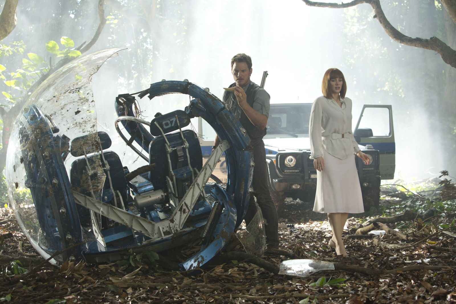 Jurassic World Bryce Dallas Howard Chris Pratt