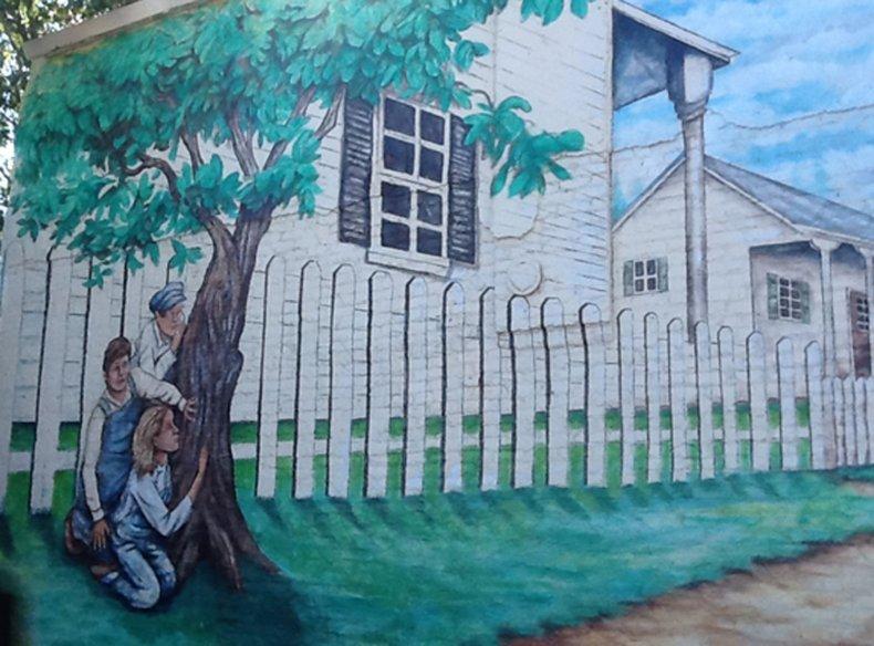 7-10-15 To Kill a Mockingbird mural