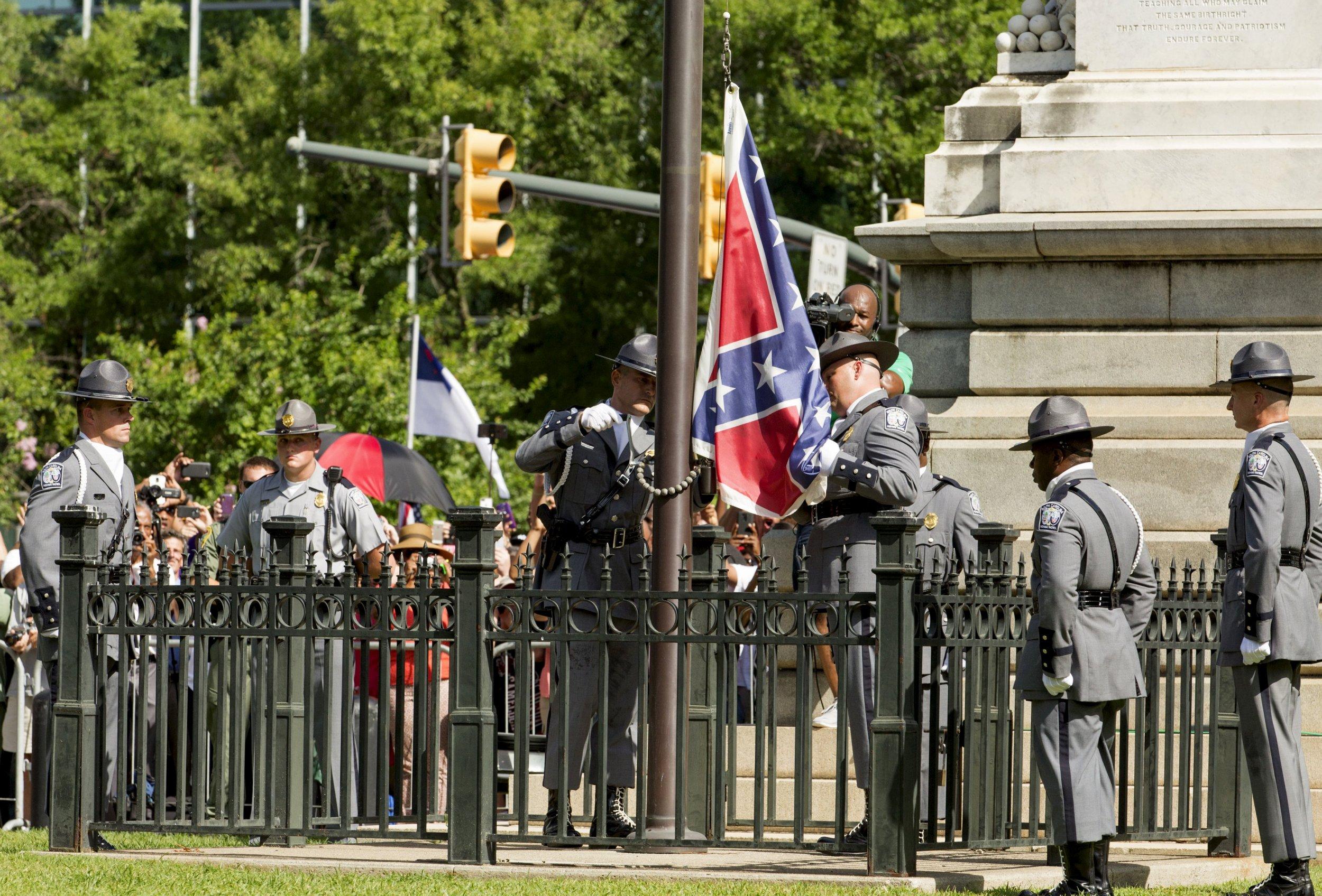 Confederate Flag Comes Down in South Carolina
