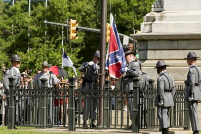 Confederate Flag Comes Down in South Carolina