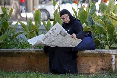 Greek newspaper shortage
