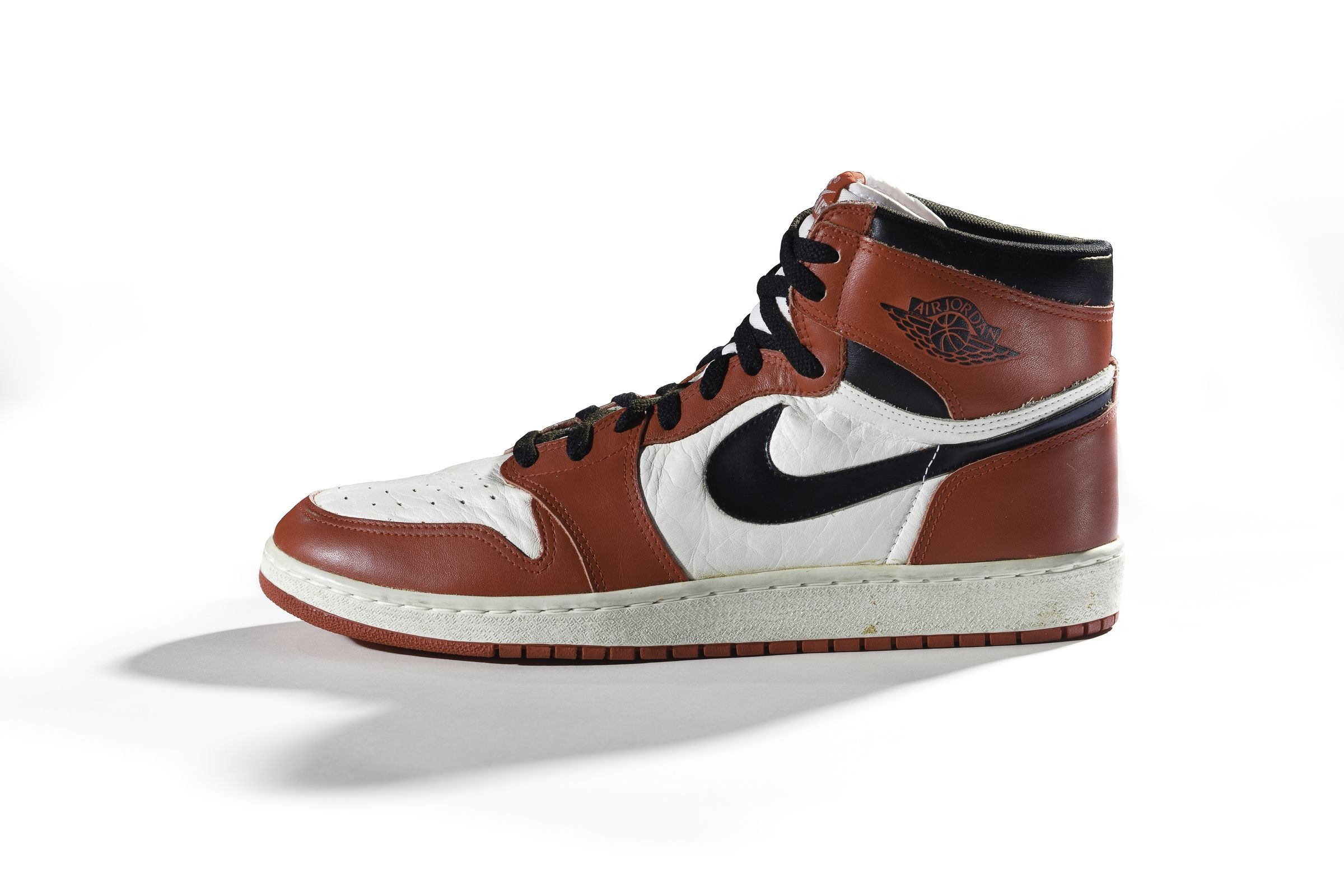 brand new 8e12a fce36 ... 1 A Nike Air Jordan I sneaker from 1985 (Nike Archives).
