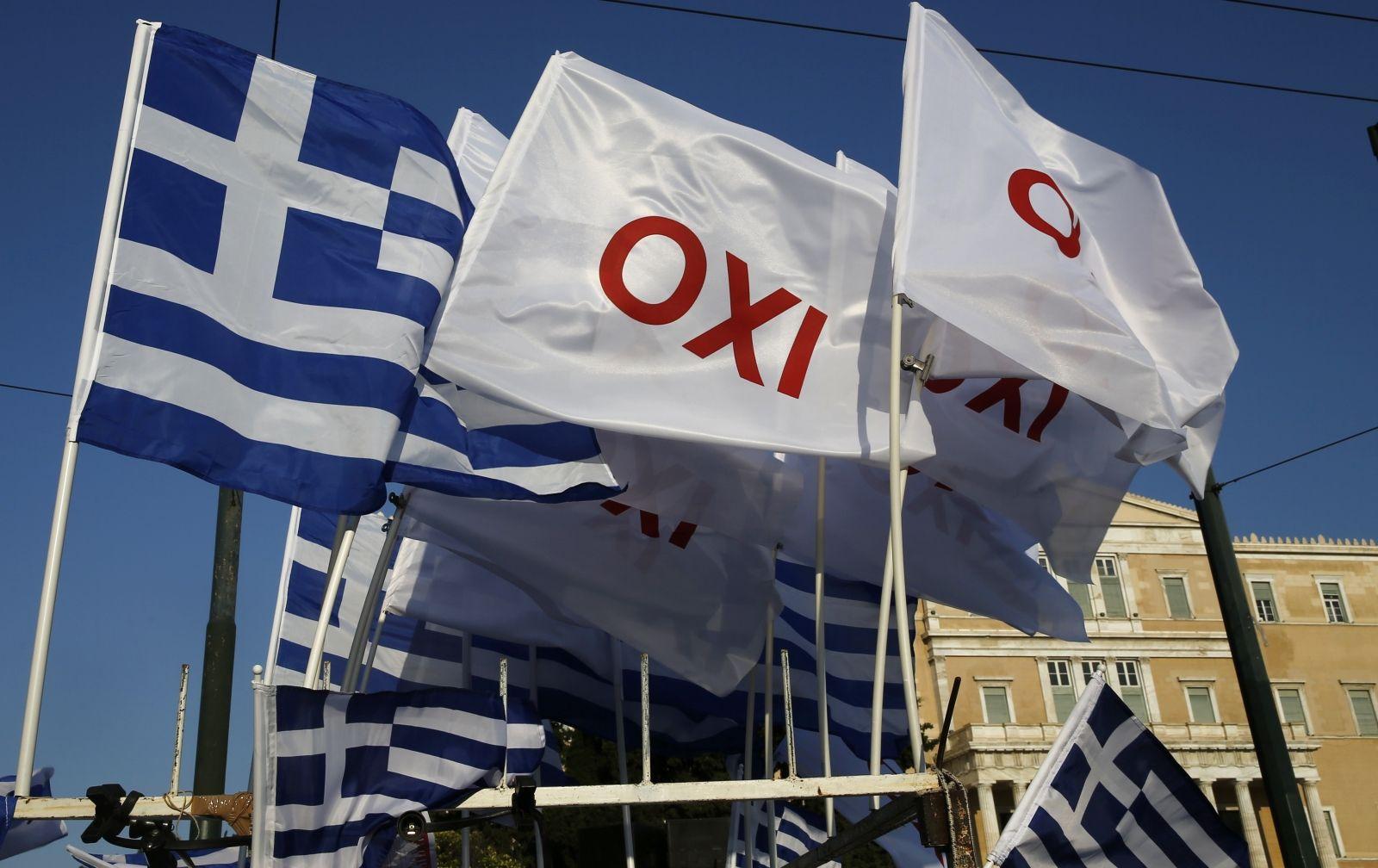 Greece OXI (NO) Flags