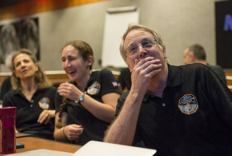7-14-15 NASA reaction
