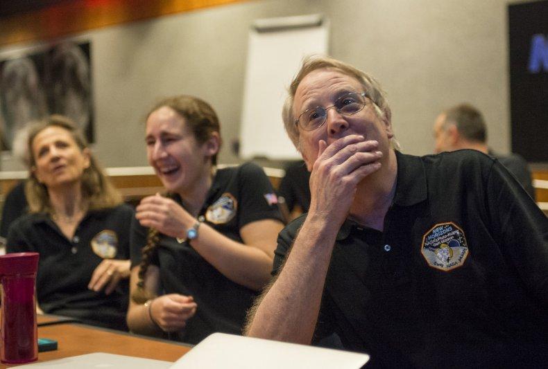 7-14-15 NASA reaction
